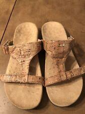 Vionic Alvery Cork Slide Sandals Walking Women's US 8