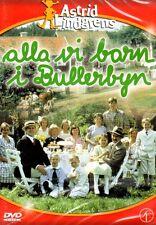 SCHWEDISCH:DVD Astrid Lindgren,Alla vi barn i Bullerbyn,Kinder aus Bullerbü NEU
