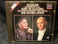 Mahler - Symphony No.4  -Solti / Chicago Symphony Orchestra / Kiri Kanawa