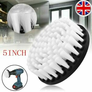 1/2X Electric Drill Soft Brush For Carpet Leather&Upholstery Cleaning Attachment