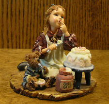 Boyds Dollstone 3560 SARAH ANNE w/ DUNCAN...ICING ON THE CAKE From Retail Store
