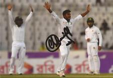 Bangladesh: Mehedi Hasan Signed 6x4 Test Action Photo+Coa