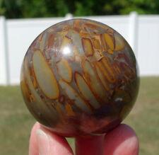 Bamboo Jasper Stone Crystal Healing Sphere Ball Spirit Guide Connection Stone