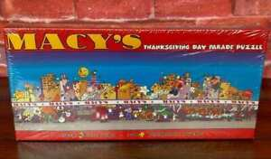 NEW Macy's PANORAMIC Thanksgiving Day PARADE 750pcs Jigsaw Puzzle OVER 3' WIDE!!
