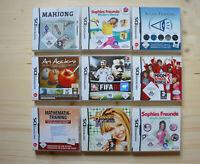 NDS - 9 Spiele für Nintendo DS in OVP (Set 14)