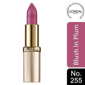 L'Oreal Paris Color Riche Satin Lipstick 255 Blush In Plum