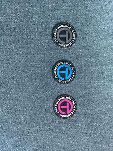 Scotty Cameron Medium Circle T Gallery Stickers BLK/SLV PNK/SLV BLU/GLD New