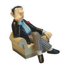Loriot Buchstütze Herr im Sessel für das Bücherregal Geschenk für Loriot Fans