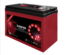ZENITH ZL060100 BATTERIA SOLARE AGM 200Ah 6V FOTOVOLTAICO CAMPER DEEP CYCLE M8