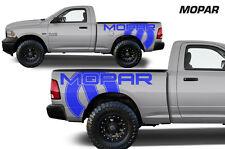 Vinyl Graphics Decal MOPAR Wrap for 2009-14 Dodge Ram 1500/2500/3500 MIDBOX Blue