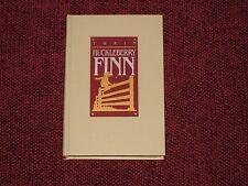 HUCKLEBERRY FINN MARK TWAIN WORLD'S GREAT CLASSICS 1982 Gold Gilded Page Edges