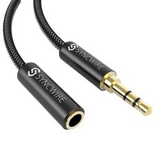 Audio Extension Cable Syncwire -nylon Braided- 3.5mm Male to Female Stereo AUX E