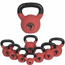 Gorilla Sports Palla Kettlebell in gomma 8kg