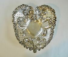 Gorham~Sterling Silver~Heart Shaped~Nut Dish~A4310~No Mono~184 Grams