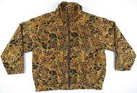 NWOT Vintage 80s 90s Black Gold Baroque Silk Royalty Hip Hop Satin Bomber Jacket