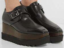 STELLA MCCARTNEY Platform Shoes UK7 EU40 Wedged Oxford Brogues