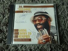 """Dr """" Feelgood """" Potts Going Down To Memphis - Blues CD (Signed Autographed)"""