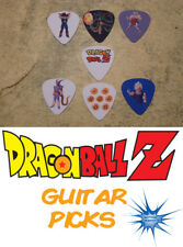 7 Dragon Ball Z  SINGLE SIDED PICTURE GUITAR PICKS