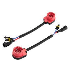2X D2S D2R HID Bulbs Convert Adapters Retrofit Aftermarket Ballasts 35W Acura GM