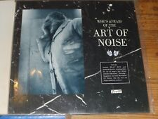 THE ART OF NOISE LP WHO'S AFRAID OF 1985 EUROPE