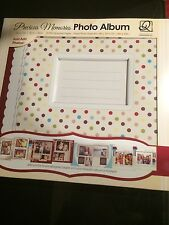 Precious Memories Photo Album new in box! Great Gift! album size12x12 Inches