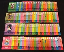 Animal Crossing New Horizons Series 2 COMPLETE Amiibo Cards Lot 101-200