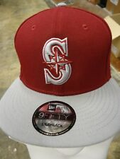 Seattle Mariners Baseball Exclusive Cap WSU Washington State Cougars Snapback