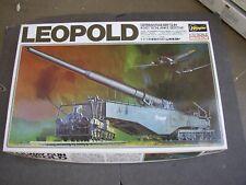 German WWII Railway Gun K5(E) Leopold 1:72 Hasegawa Model Kit
