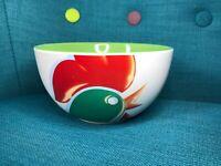 Vintage Kellogs Cornflakes Bowl Green