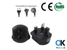 EU EUROPE to UK Travel Adapter Adaptor Power Plug Converter