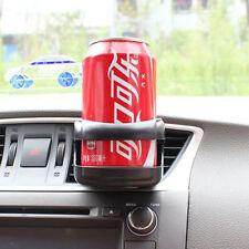 Auto Car Air Vent Outlet Cups Bottle Mount Beverage Drinks Black Holder Bracket