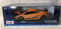 2007 Lamborghini Gallardo Superleggera 1/18 scale Miasto Special Edition Orange