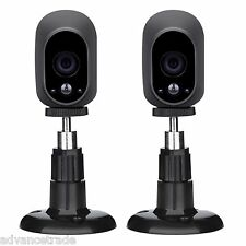 2 Pack IP Security Wall Mount Bracket Adjustable for Arlo Arlo Pro Cam Camera