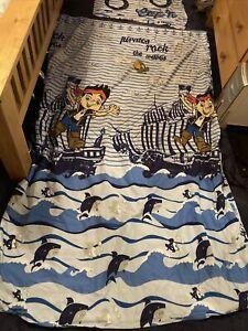 Disney Jake & The Neverland Pirates Reversible Single Bed Duvet Set - Good