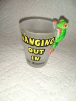 Hanging Out In St Maarten Shot Glass