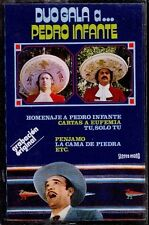 DUO GALA - A Pedro Infante - SPAIN CASSETTE Olympo 1978 - Cartas A Eufemia