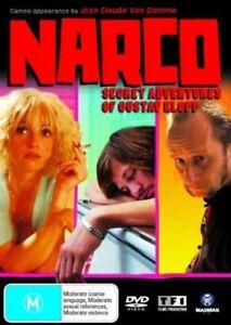 Narco-Secret Adventures Of Gustav Klopp-DVD- COMEDY FRENCH MOVIE-RARE-All Region
