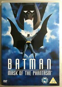 Batman Mask Of The Phantasm DVD 1993 Animated DC Universe Film Movie film