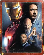 Iron Man 1 Steelbook 4K UHD + Bluray Zavvi NEU OVP