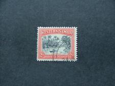 Samoa 1935 2d black & orange SG180 FU
