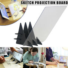 Drawing Projector Board Optical Image Sketch Reflection Dimm Paint Mirror Plate