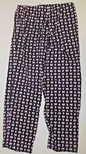 Vera Bradley Pajama Pants PJ Lounge Drawstring in Pink Elephant Sexy PJ's