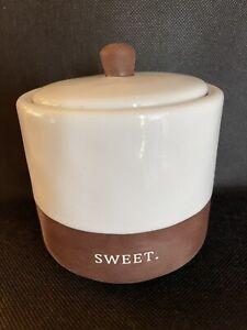 Rae Dunn Chocolat Sugar Bowl