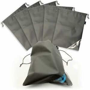 Non-Woven Travel Shoe Bag Drawstring Dustproof Shoes Storage Organizer Case
