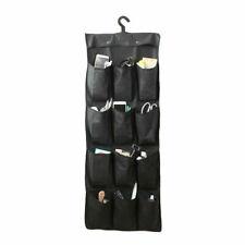 12 Pocket Shoe Space Door Hanging Organizer Storage Rack Bag Closet Holder