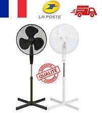 Ventilateur sur pied Silencieux Oscillant Hauteur Reglable Inclinable 3 Vitesses