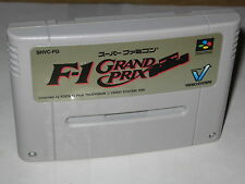 F1 Grand Prix Super Famicom SFC Japan import