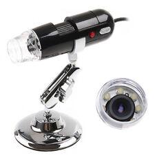 2MP 200X USB Digital Microscope Endoscope Magnifier 8 LED Camera Cam PC Computer