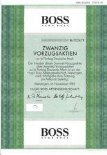 Hugo Boss AG 1000DM Metzingen  1985 VZ