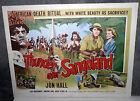 RAMAR OF THE JUNGLE/AFRICAN NATIVES original movie poster JON HALL/MYRON HEALEY
